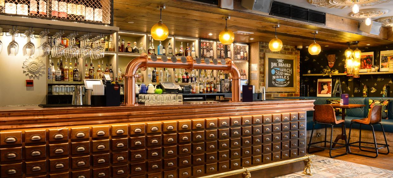 An Urban Inspired Bar with a Downstairs Nightclub  8