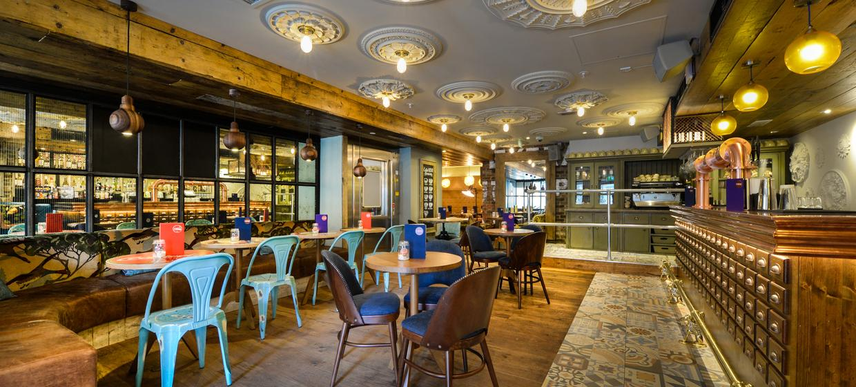 An Urban Inspired Bar with a Downstairs Nightclub  9