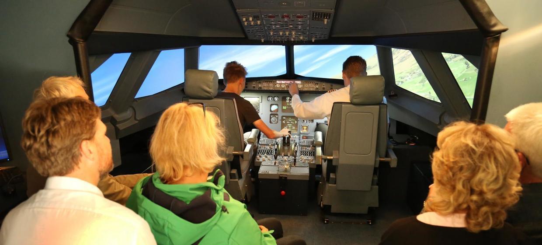JetSim A320 Flugsimulator 8
