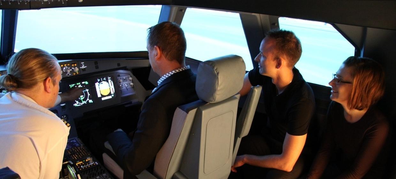 JetSim A320 Flugsimulator 10