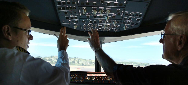 JetSim A320 Flugsimulator 11