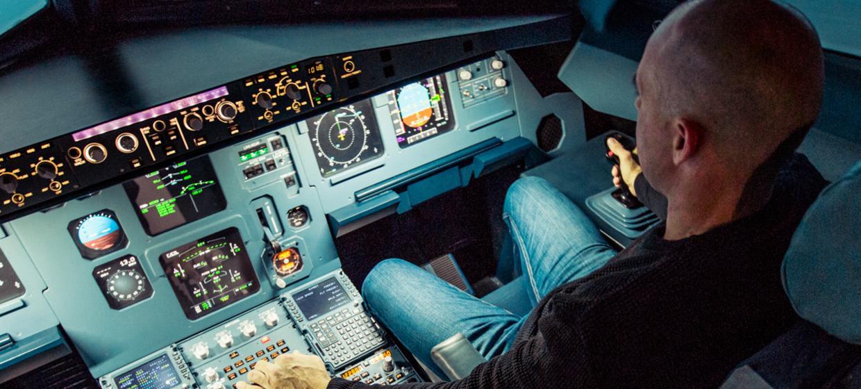 JetSim A320 Flugsimulator 9