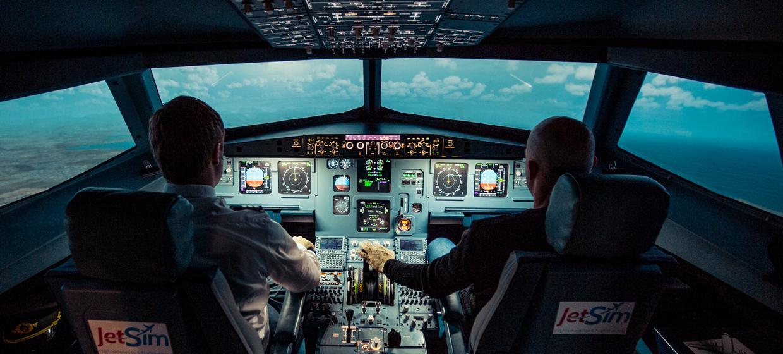 JetSim A320 Flugsimulator 1