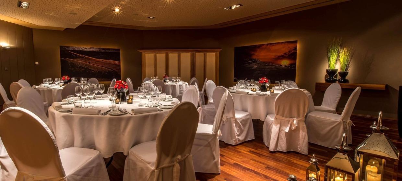 Private Dining Rooms im GOLDBERG 3