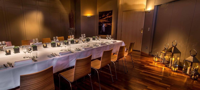 Private Dining Rooms im GOLDBERG 5