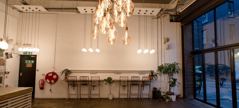 Four Flexible Blank Canvas Event Studios 2