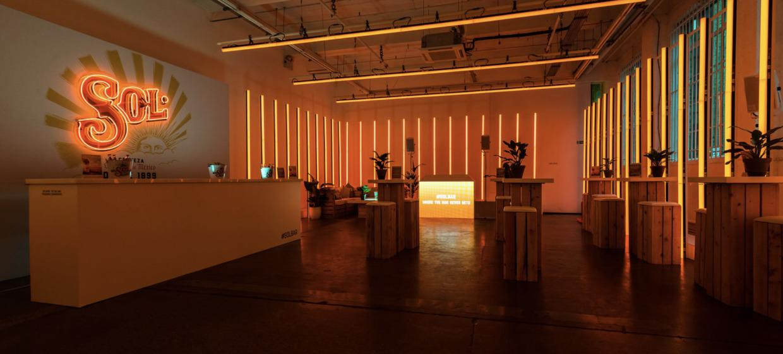 Four Flexible Blank Canvas Event Studios 20