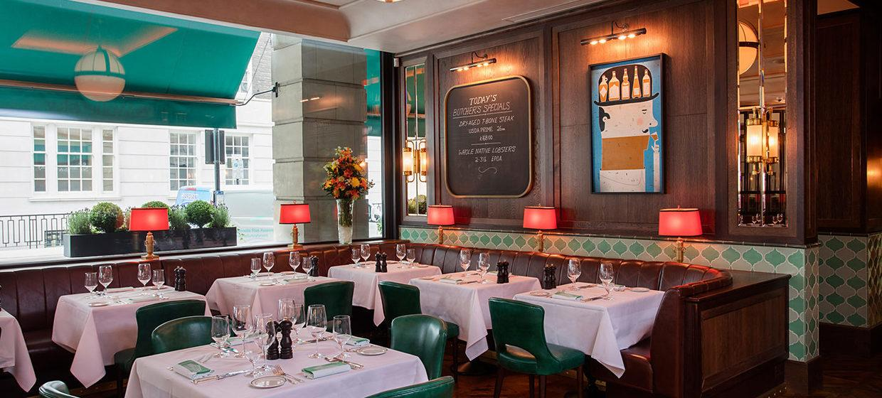 A Glamorous Restaurant with Private Dining Spaces 6