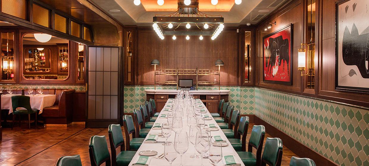 A Glamorous Restaurant with Private Dining Spaces 2