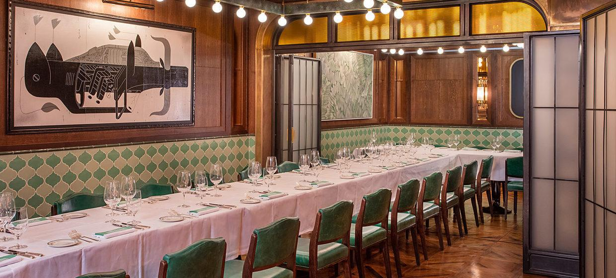 A Glamorous Restaurant with Private Dining Spaces 7
