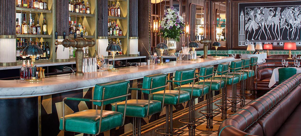 A Glamorous Restaurant with Private Dining Spaces 8