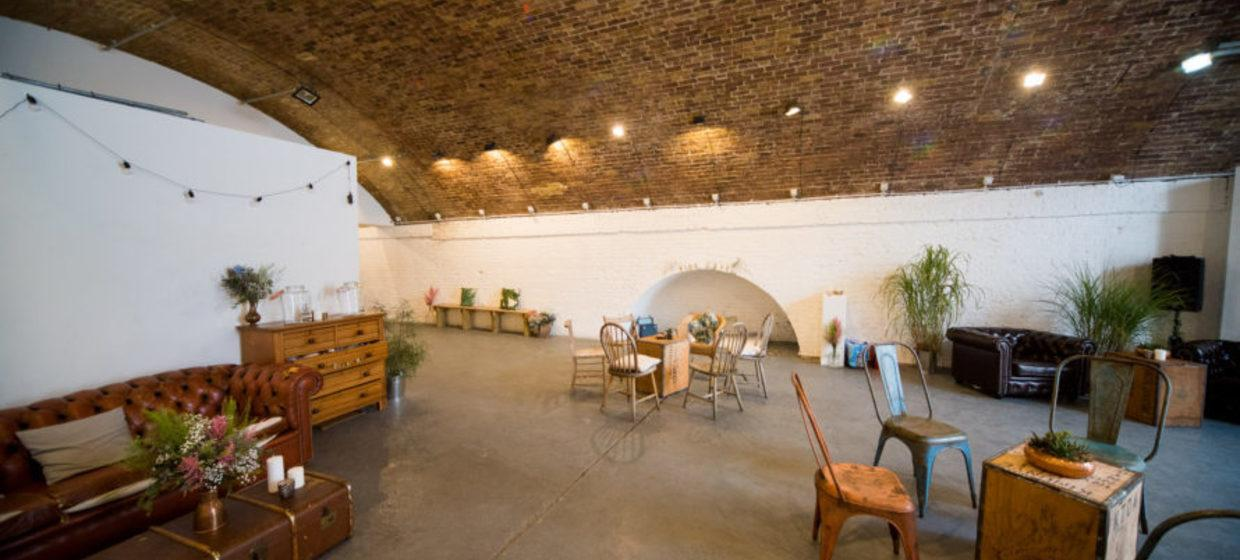 A Converted Railway Arch in East London 1