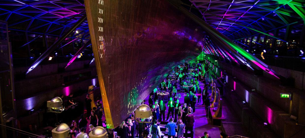 Christmas Party in Iconic Cutty Sark  6