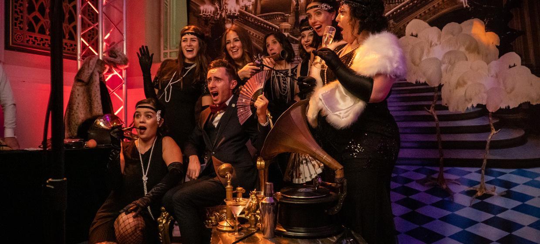 Christmas Party: The Gatsby Club at Freemason Hall  5