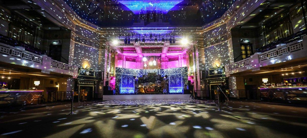 Christmas Party: The Grand Temple at Freemasons' Hall 2