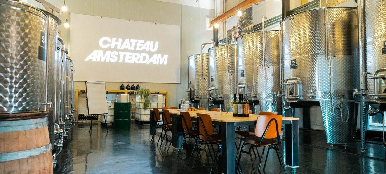 Chateau Amsterdam The winery 1