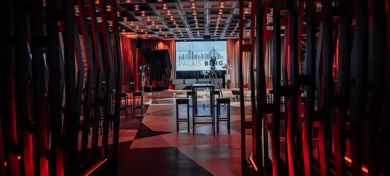 Streaming Studio im Palais Berg  2